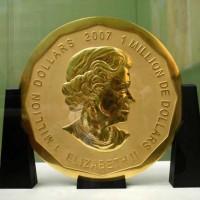 ドイツの博物館から、重さ100kgの巨大金貨が盗まれた!