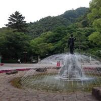 岐阜公園を抜け円空美術館へ