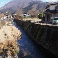 由布見橋から玉の湯前へ