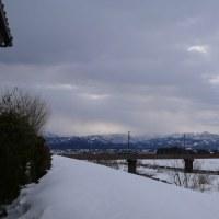 雪のある生活は大変だけど景色はすばらしい・・・