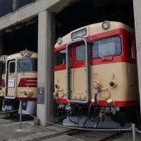 「津山まなびの鉄道館」へ行きました。