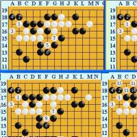 囲碁死活1522 囲碁発陽論