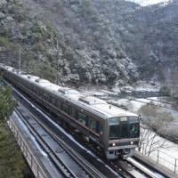 福知山線 雪景色