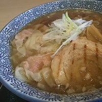 元気レストラン・大玉鶏つみれワンタンメン