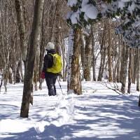 高塚山で雪上ハイク 2