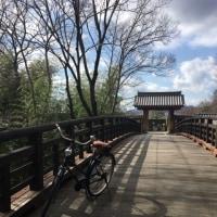 レトロ自転車  サイクリング