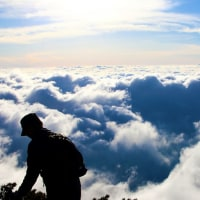 テントで登る、早月尾根からの剱岳、YouTubeにアップ