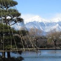 2月21日(火)松本城と今日の山