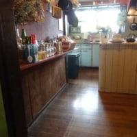 目隠しを兼ねたキッチンカウンター・・・完成