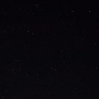 宿舎前の星空