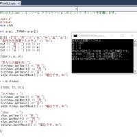 C++,Javaであそんでました。インスタンスの代入出来るのか?