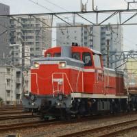 2017年2月13日  越中島支線  新小岩  DE10-1752 レール輸送列車 越中島工臨
