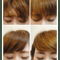 前髪セット。