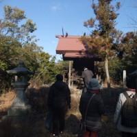 今年初 健康・歴史ウォーキング 備前原駅から高島駅へ