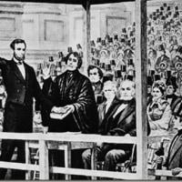 トランプの大統領就任宣誓は、リンカーン元大統領も使用した聖書。