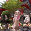2017.07.02 川崎市 新丸子 京浜伏見稲荷神社②: 自由奔放なキツネ達