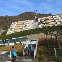 3 鈴ヶ峰・鬼ヶ城山(320・282m:西区)縦走登山  登山口を目指して