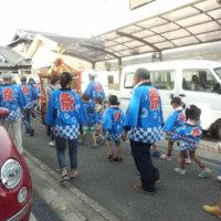 2016年10月9日猪名野神社秋季例大祭りお渡り