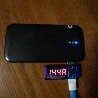 携帯電源、USBチャージャー 出力比較