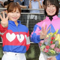 9/21の名古屋競馬 菜七子6R、9R、12R勝利! 瞳脱帽! 入場者数は前年の約6割増!