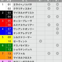 1/22【AJCC[GⅡ]】[3連複]的中!予感