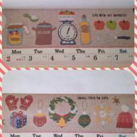 セリアのファミリーカレンダー