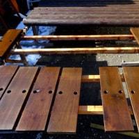木材塗装2回目