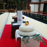 ★平成29年、初詣と坐禅で新年が明けました。