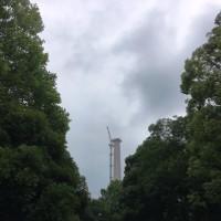光が丘の煙突工事・・