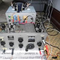 九四式三号甲無線機三六号型通信機受信部の修復作業記録 その7 (2016年11月28日)
