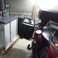 バイク用品用倉庫 その2。