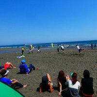 『北浜』 ビーチテニス
