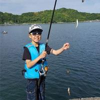 ちびっこ釣り師 龍生参上!