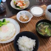 朝食 久しぶりのアサリの味噌汁など&夕食 スンドゥブチゲなど