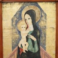 イタリアの美術館の珍しい聖母子像、受胎告知、磔刑図