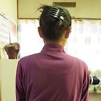 肩甲骨の出っ張りと肩ライン矯正