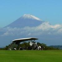 富士も冠雪