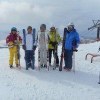 今月最後のスキー・・・