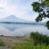 間近に見る、優雅な富士山に魅せられて