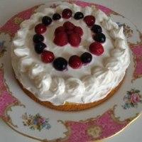 好きな人のために 娘が作るケーキ ♡