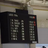 オーバルで出た!37秒台(女子500m)4人も
