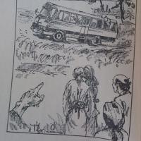『とらえられたスクールバス(前編・中編・後編)』 眉村卓/著(角川文庫)