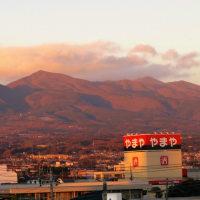公園も、正幸寺も、中央通りも、そして赤城山も三国山脈も、みんな光のショー