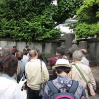 第14回巡墓会「深川巡墓会~江戸の始まりと幕末黎明期の群像~」を開催しました