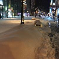 旭川限定、局地的豪雪