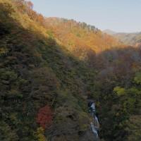 頼母木大橋(よもぎおおはし)からの足ノ松沢