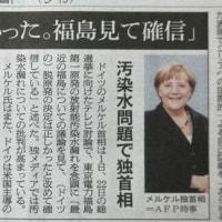 「脱原発正しかった。福島見て確信」の記事より