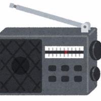 事務所のBGMはラジオでした
