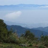 竜爪山 文殊岳から南アルプスを眺望