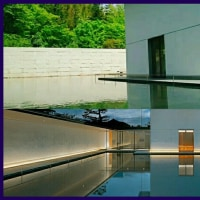 """オカリナのある風景🎵「 """"禅と土の音""""・水鏡の庭」"""